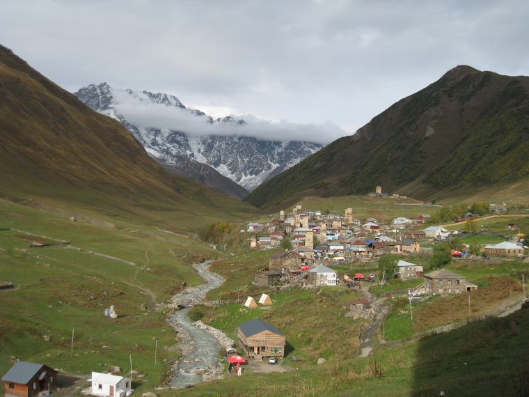 Greater Caucasus Mountains: Ushguli