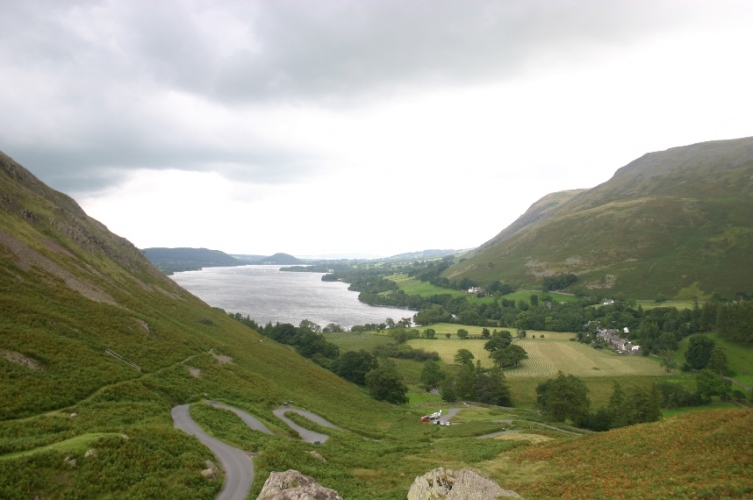 Martindale - Above Howton Dale, onto Ullswater - © William Mackesy