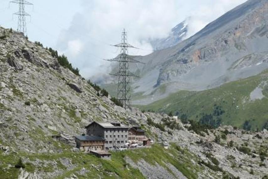 Gemmi Pass: Gemmi Schwarenbach  - © Adrian Michael