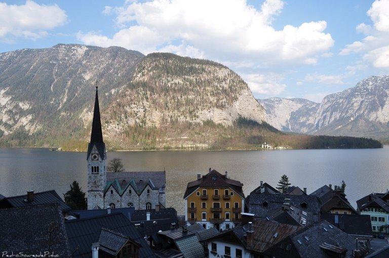 Austria The Dachstein, Soleleitungsweg/Hallstatter See, Hallstatt, Walkopedia
