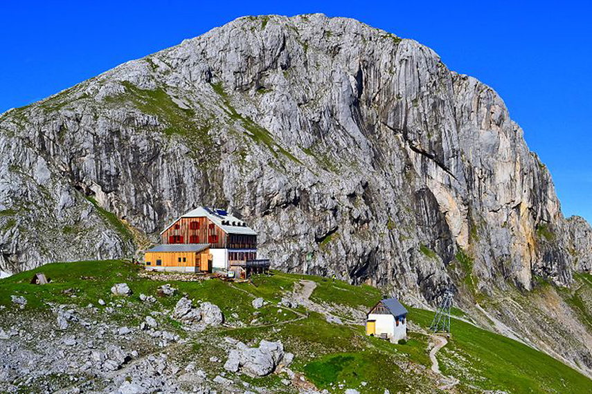 Austria The Dachstein, Anton-Baum Weg/ Silberkarlamm, Guttenberg Hut , Walkopedia