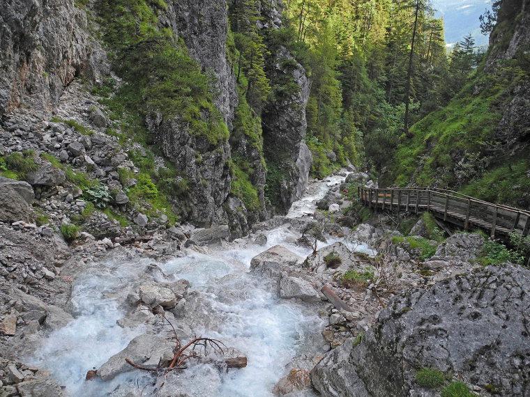 Austria The Dachstein, Anton-Baum Weg/ Silberkarlamm, Silberkarklamm , Walkopedia