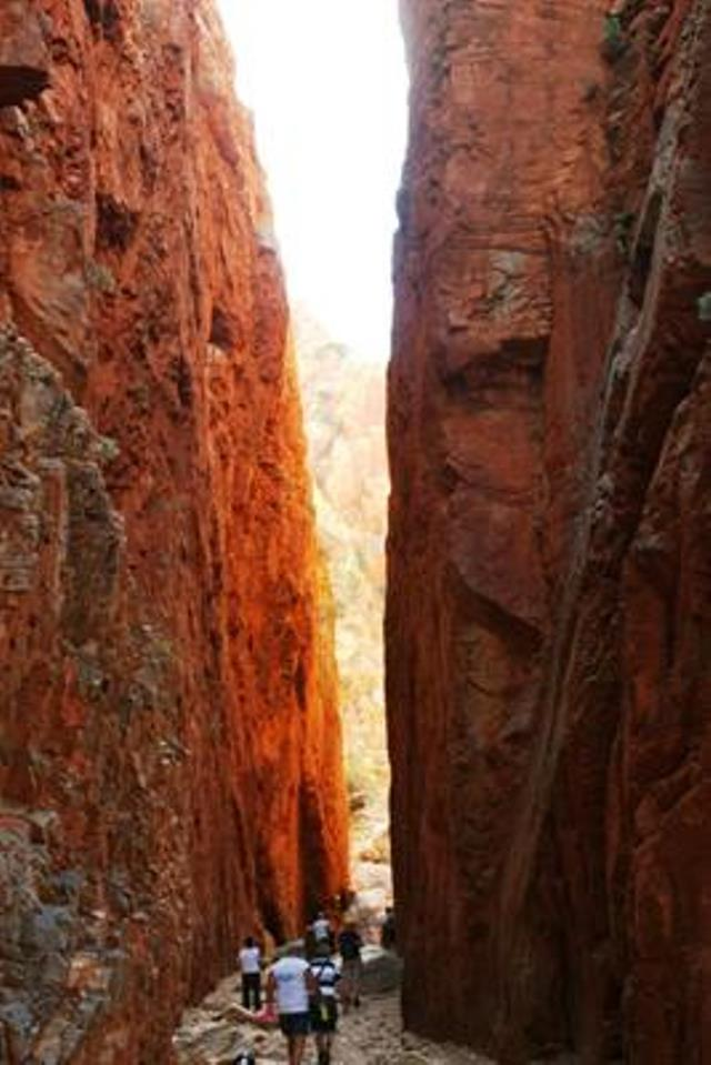 Standley Chasm - © James Morrison