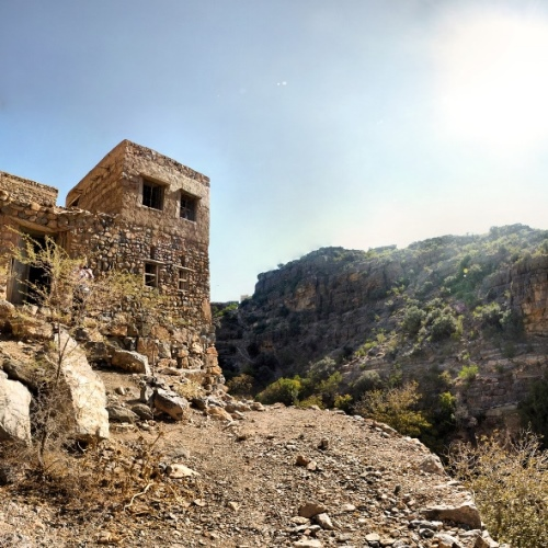 Southern Sayq Rim Villages: © flickr user- Panoramas