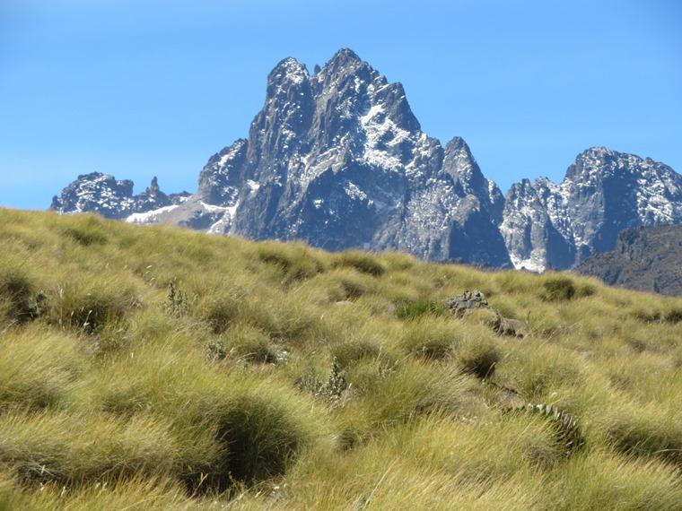 Mount Kenya: from Sirimon - © William Mackesy