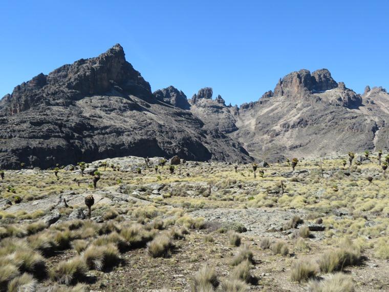 Mount Kenya: Temple Flats - © William Mackesy