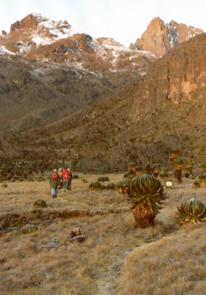 Setting Off Third Morning Mt Kenya - © Dick Everard
