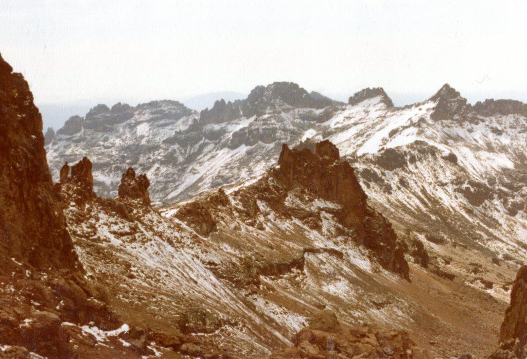 Mount Kenya: View towards East Delamere Peak Mt Kenya - © Dick Everard