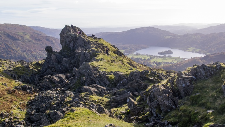 Walk to Helm Crag  - © Ed Webster flickr user