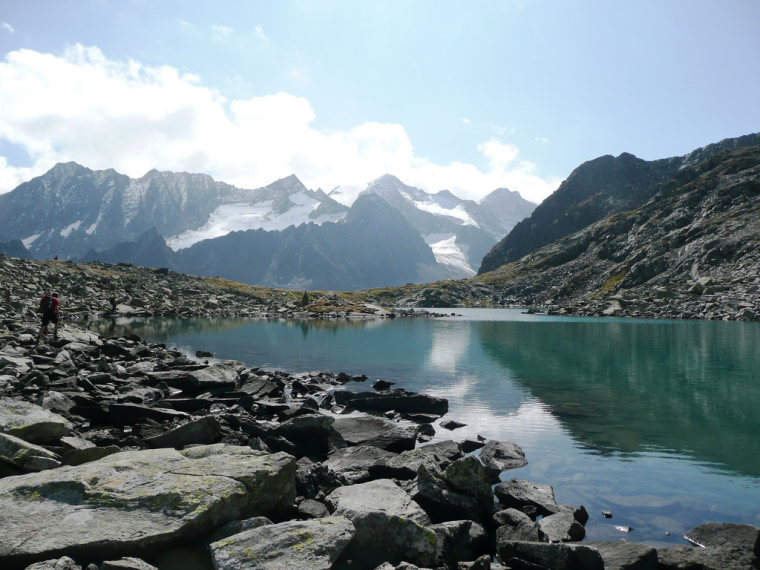 The Rinnensee in the Stubai Alps, power and peace proceed from such a place. - © flickr user- Renate Dodell