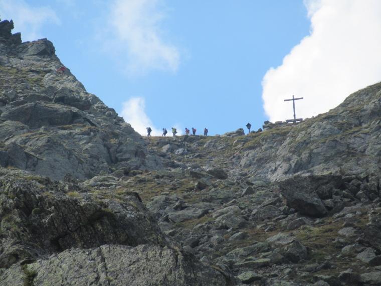 Up towards Niederl pass - © William Mackesy