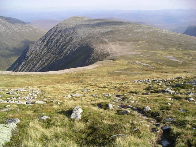 "Cairn Toul and Braeriach : Path from Cairn Toul to The Devil""s Point  - © Graham Ellis"