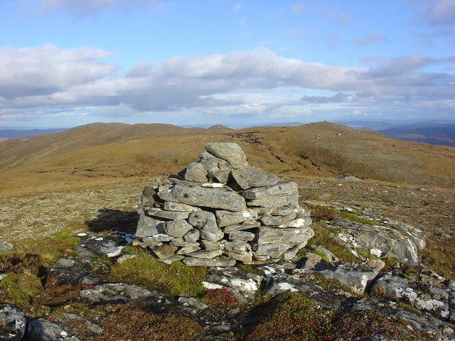 Cairn on Carn Gorm  - © Geograph user Alasdair MacDonald
