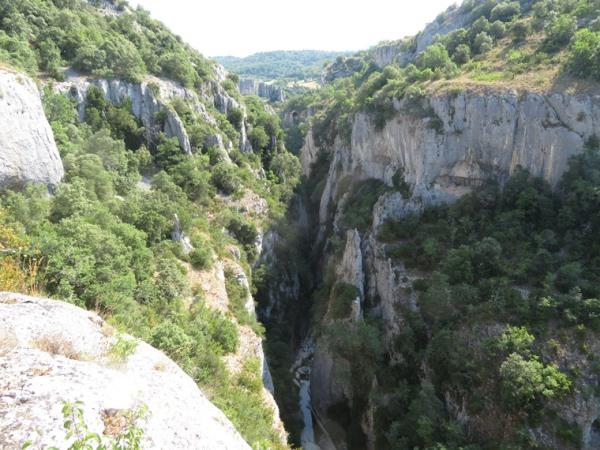 Gorges d'Oppedette :