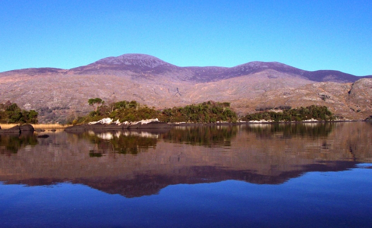Purple Mountain View from Upper Lake, Killarney - © mozzercork