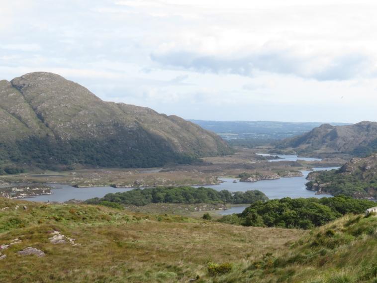 Killarney Lakes: Across Upper Lake to Lough Leane - © William Mackesy