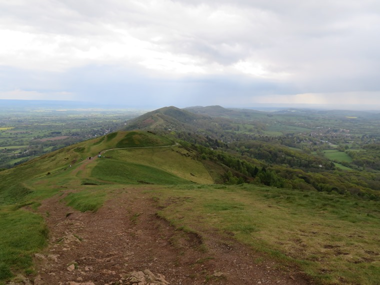 South from below Worcestershire Beacon - © William Mackesy