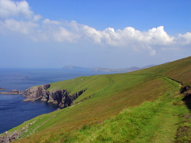 Great Blasket Island: Roads on Great Blasket Island  - © Peter Church