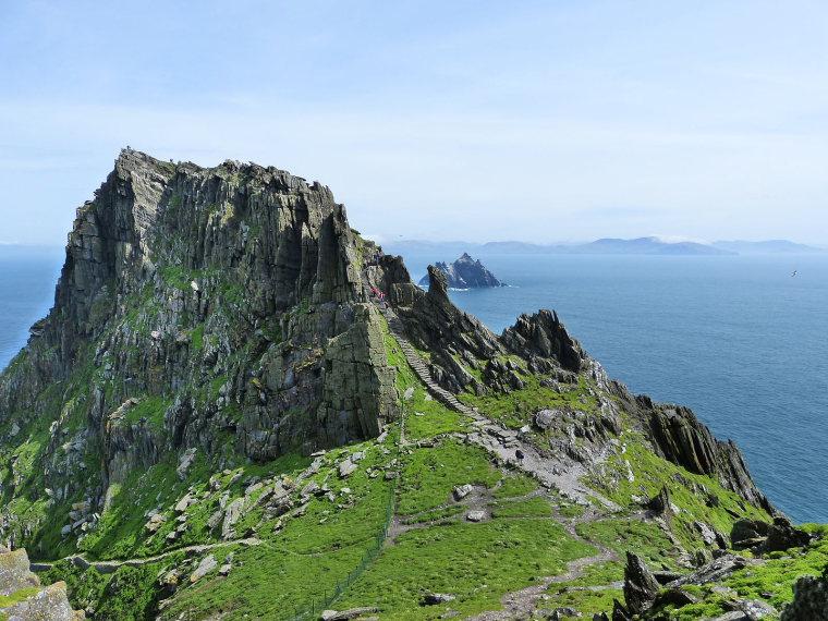 Ireland Kerry Iveragh Peninsula, Skellig Michael, Skellig Michael, Walkopedia