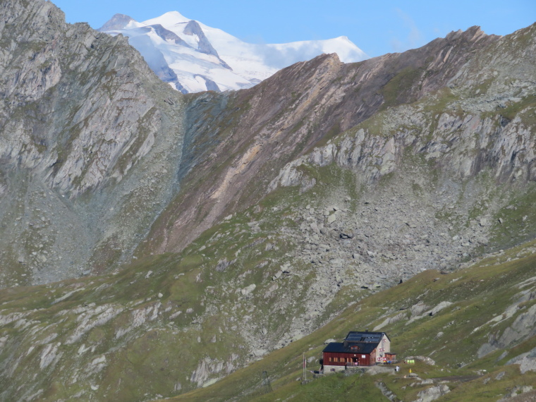 Hohe Tauern: Grossvenediger above the Sudetendeutscher Hut - © William Mackesy