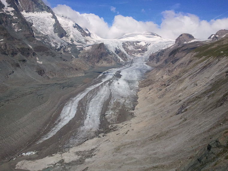 Austria Hohe Tauern, Tours of the Glockner Group , Pasterze Glacier , Walkopedia