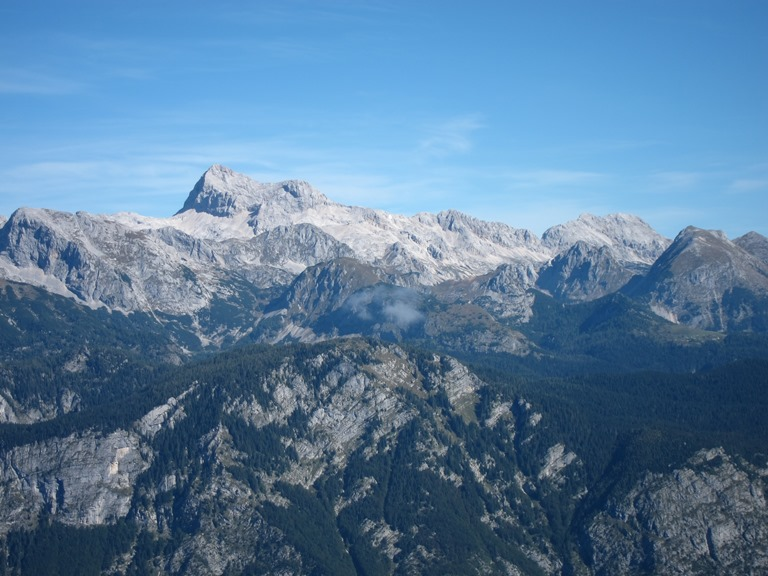 Julian Alps: Triglav from Vrh Planje - © William Mackesy