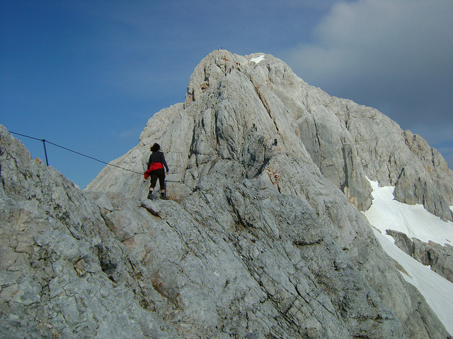 Julian Alps: Top of Triglav - © Flickr user: Risbom