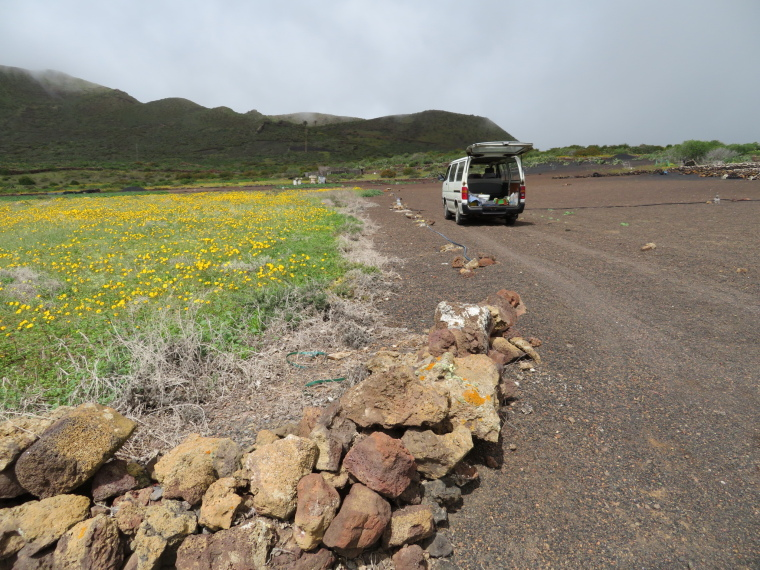Spain Canary Islands: Lanzarote, Maguez Area  , Landrover, Walkopedia