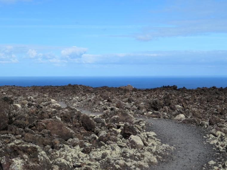 Spain Canary Islands: Lanzarote, Caldera Blanca , , Walkopedia