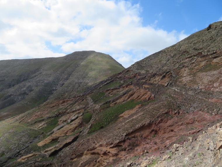 Spain Canary Islands: Lanzarote, Femes area, Traversing peak beyong goat farm, Walkopedia