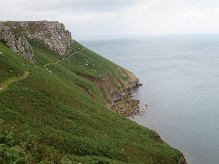 East coast, track below cliffs 2 - © William Mackesy