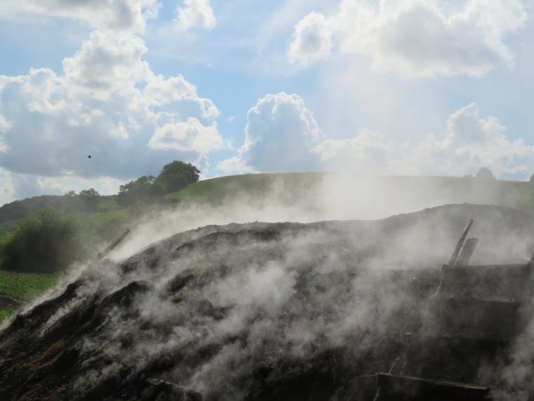 Transylvania: Charcoal burning - © William Mackesy