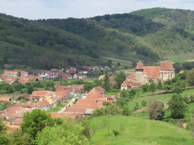 Transylvania: Copsa Mare from end of walk - © William Mackesy