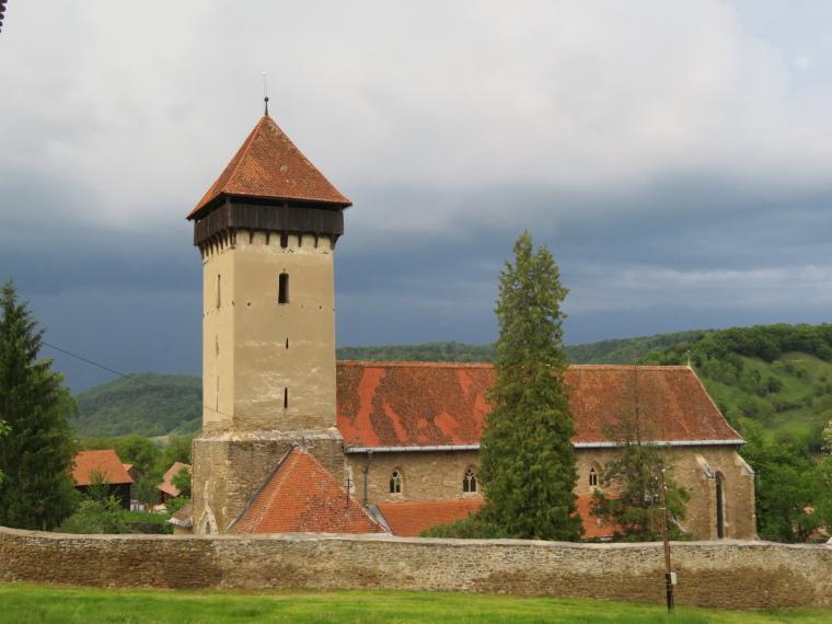 Transylvania: Malancrav, storm approaching - © William Mackesy