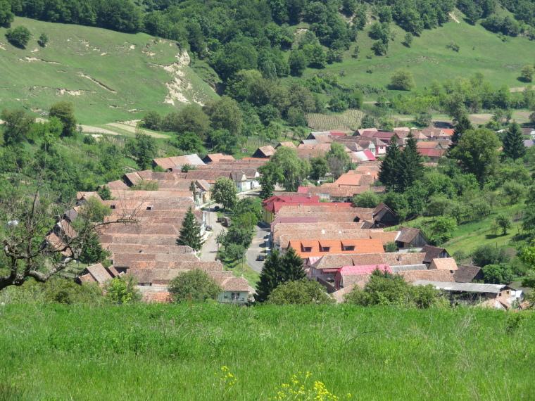 Transylvania: Malancrav from second walk - © William Mackesy
