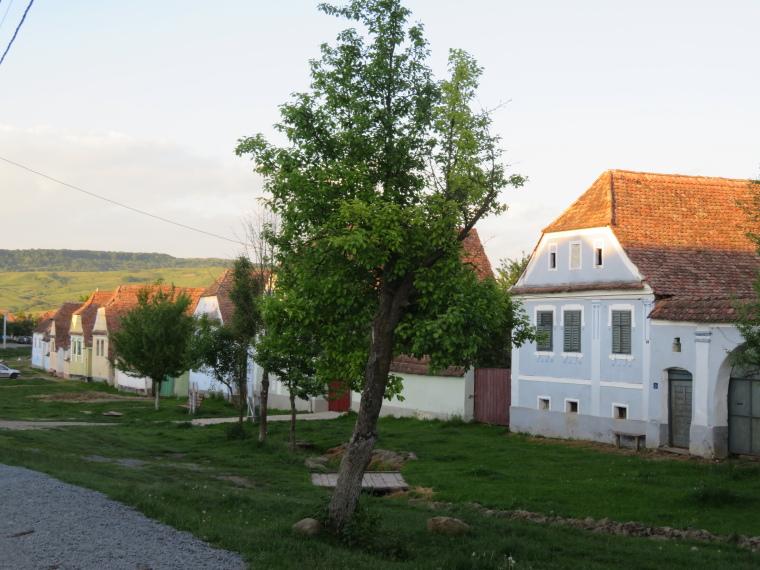 Transylvania: Viscri, evening - © William Mackesy