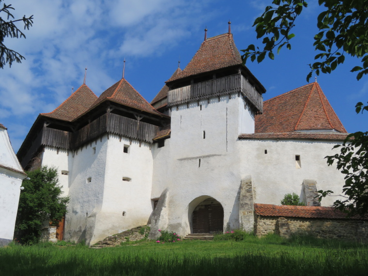Transylvania: Viscri church - © William Mackesy