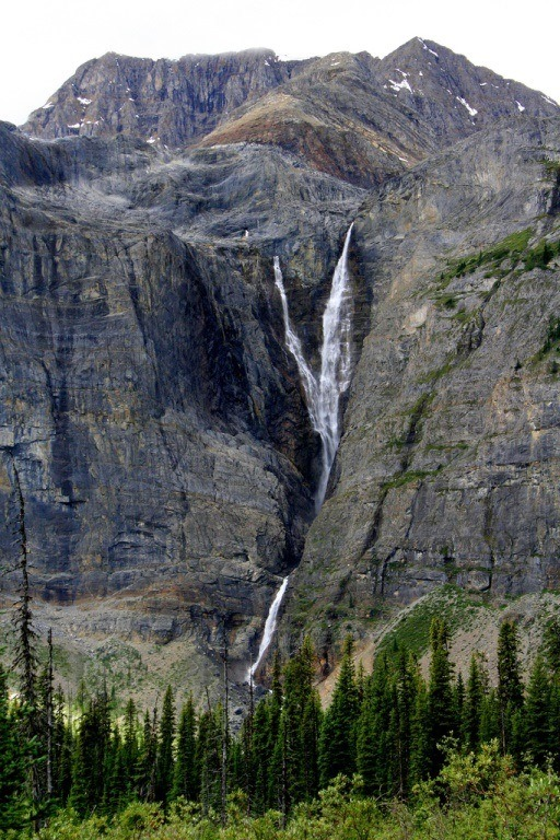 Kootenay; Rockwall Trail: Helmet Falls - Rockwall Trail - Kootenay National Park - © flickr user- Peter