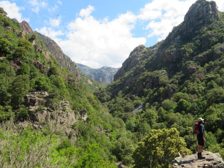 Spelunca Gorge: Gorge bottom - © William Mackesy