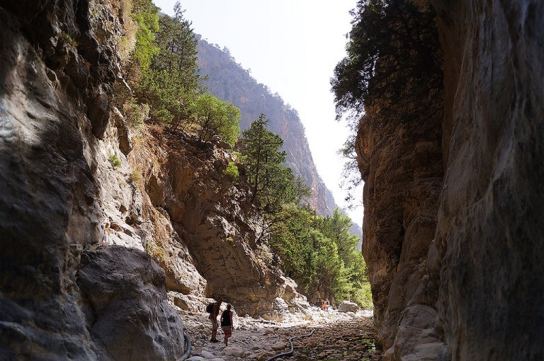 Samaria Gorge: © flickr user- Jedo Dre