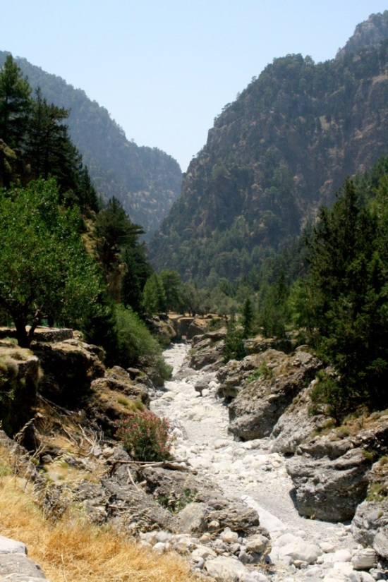 Samaria Gorge: © flickr user- hollin.elizabeth
