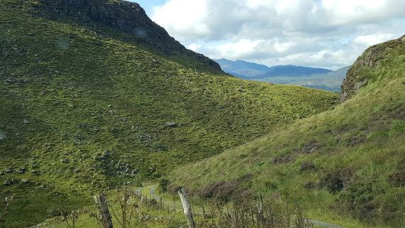Ireland Kerry/Cork, Ireland's SW Peninsulas, Central Beara pass, Beara Way, Walkopedia