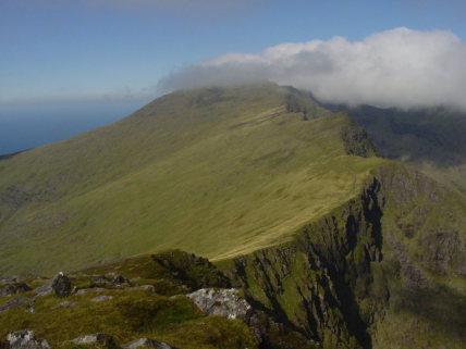 Ireland Kerry/Cork, Ireland's SW Peninsulas, Dingle - Mt Brandon from Brandon Peak  , Walkopedia