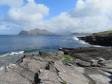 Ireland's SW Peninsulas: Iveragh, looking north from Valentia Island - © William Mackesy