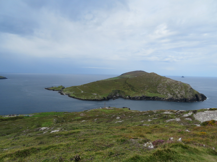 Dursey island from the mainland - © William Mackesy