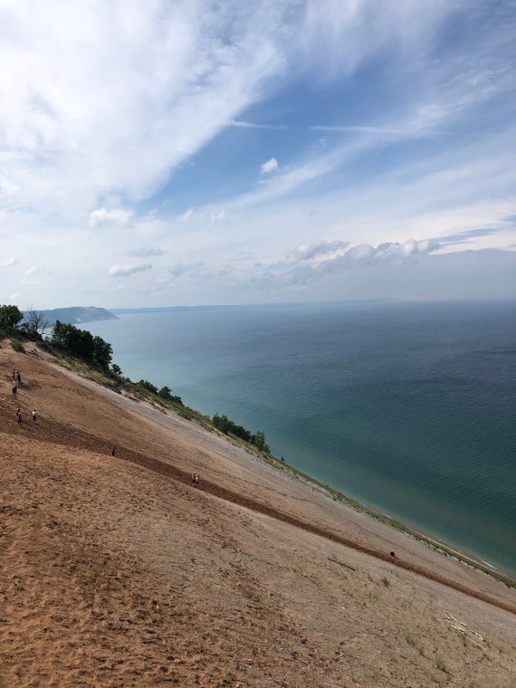 USA Mid-west, Sleeping Bear Dunes, Michigan, , Walkopedia