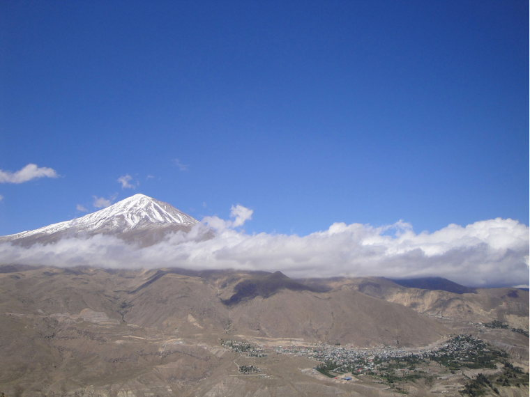 Damavand - © Wiki user Mehdi