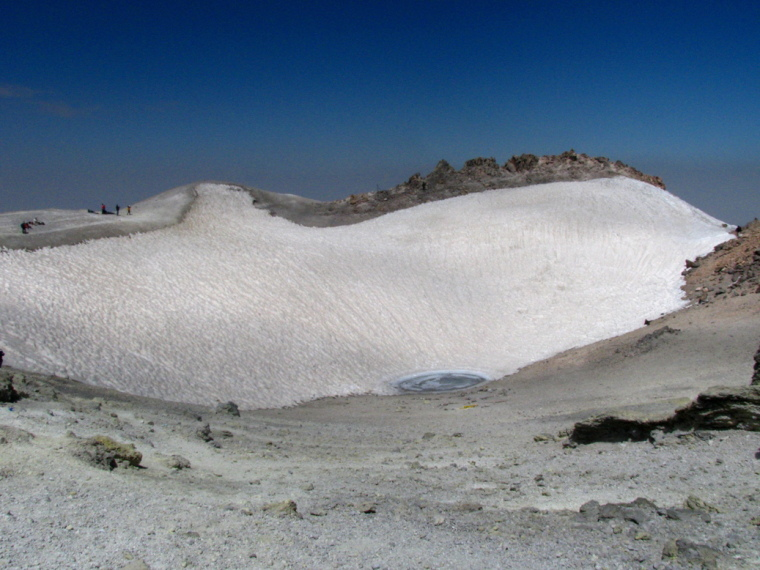 Damavand Volcanic Crater - © Wiki user M samadi