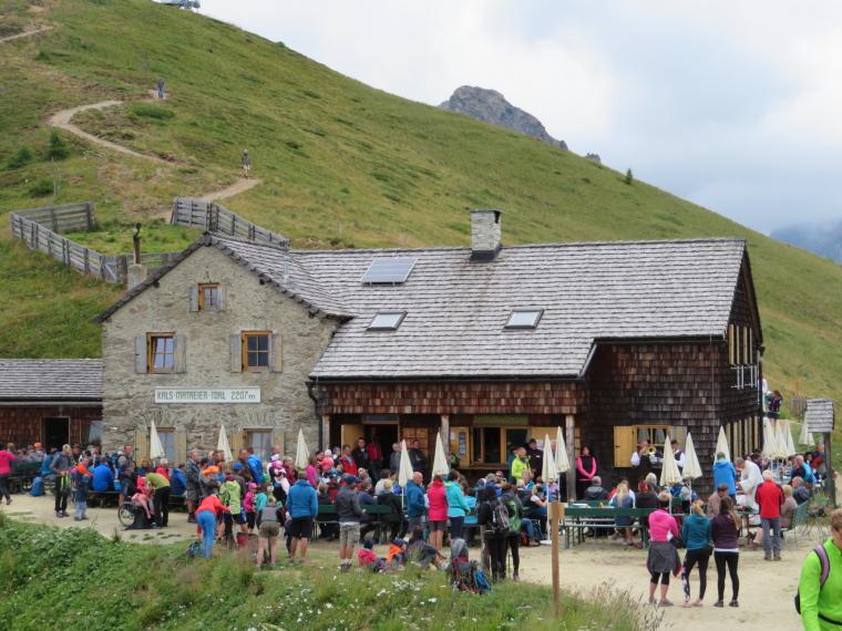 Austria Hohe Tauern, Granatspitze Ridge, Service at Torlhaus, Walkopedia