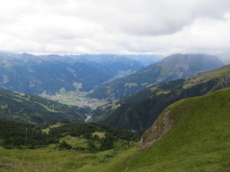 Austria Hohe Tauern, Granatspitze Ridge, Matrei and Virgental from Sudetendeutscher Hohenweg, Walkopedia